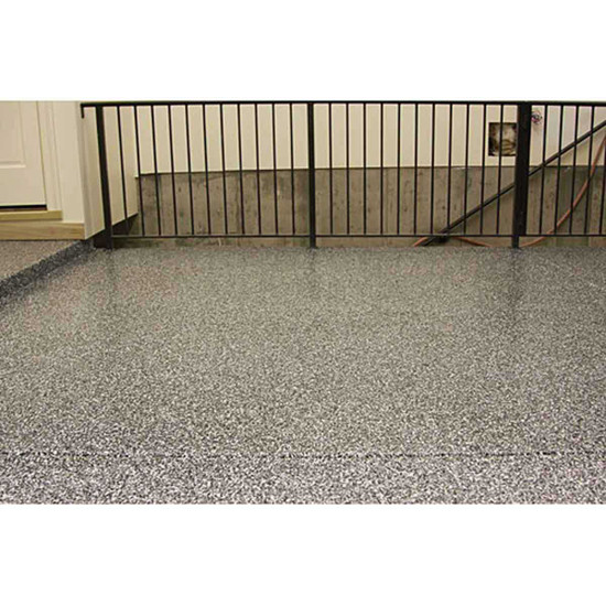 Laticrete Sparta Chip Floors in Commercial Areas