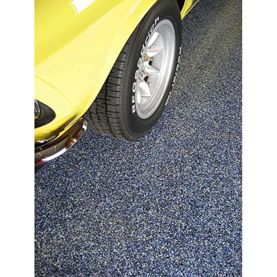 Blue Sparta Chip Garage Floors