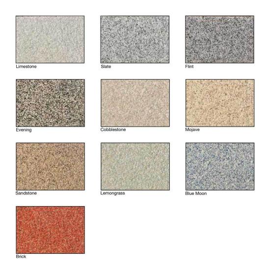 Laticrete Blended Sparta-Quartz Chart of Colors