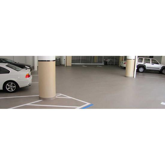 Laticrete Sparta-Quartz Floor in Parking Garage