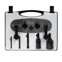 hole shot drill bit kit with guide