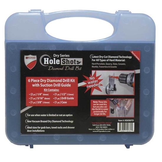 Dry Tile Drill Bit Kit Label