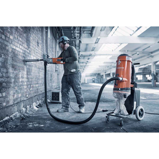 Concrete Core Drill with S13 Dust Extractor