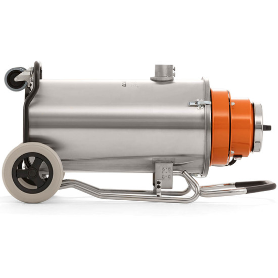 Husqvarna Wall Saw with W70 Vacuum