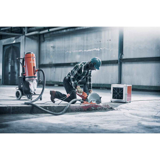 Husqvarna A600 Air Scrubber with K4000 Cut-off Saw