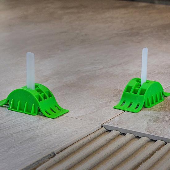 MLT Leveling System T2 Ready Straps porcelain tile mortar