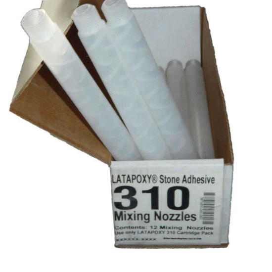 12 Pack Nozzles Latapoxy 310 Stone Adhesive RT8480500