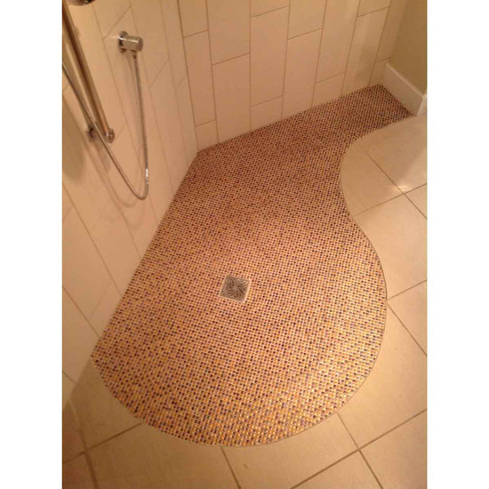 Arc TrueDek Curbless Shower Design
