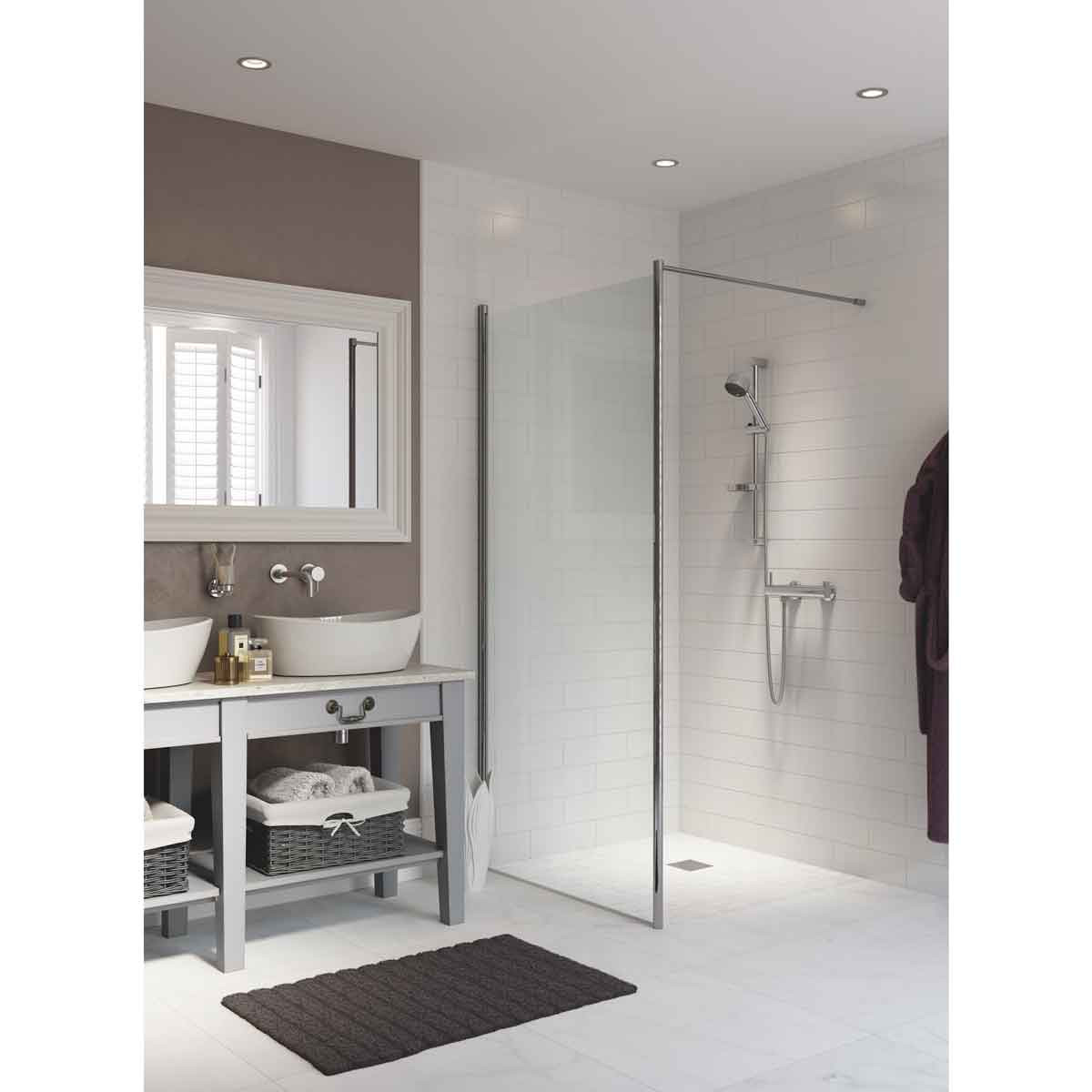 Arc Water Proof Curbless Shower