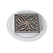 Brushed Stainless Classic Arc TrueDEK Drain CD1210-BS