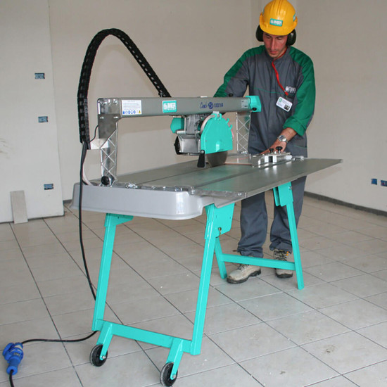 Imer Combicut Tile Saw In Use