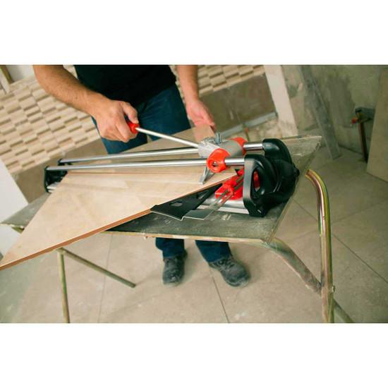 rubi fast tile cutter cuts ceramic
