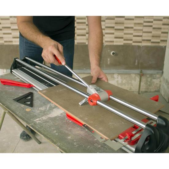 rubi fast tile cutter cuts tile
