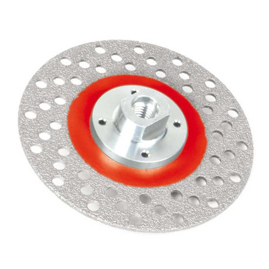 Montolit Medium Grit Diamond Cutting and Grinding Wheel