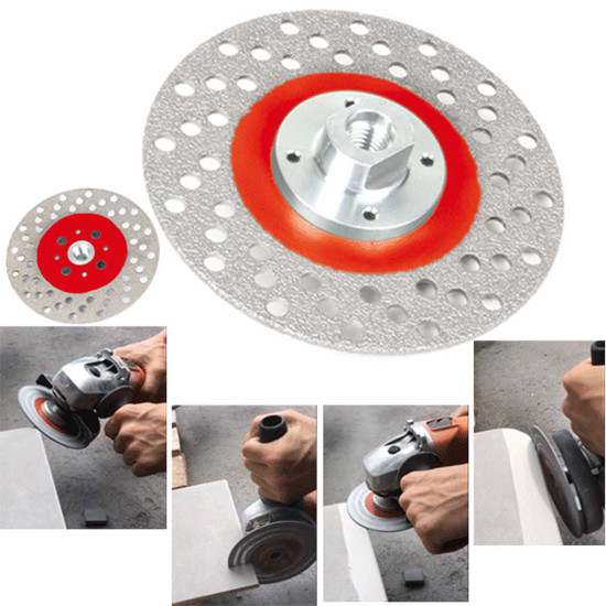 Montolit Versatile Diamond Wheel for Cutting and Grinding