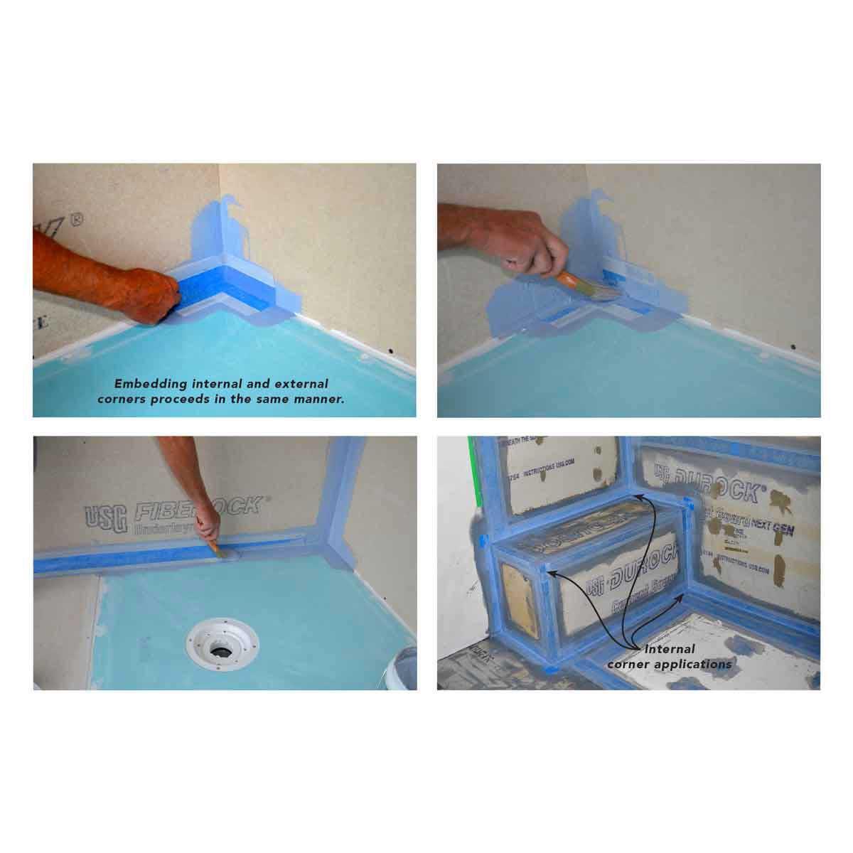 ARC Internal Waterproofing Corner