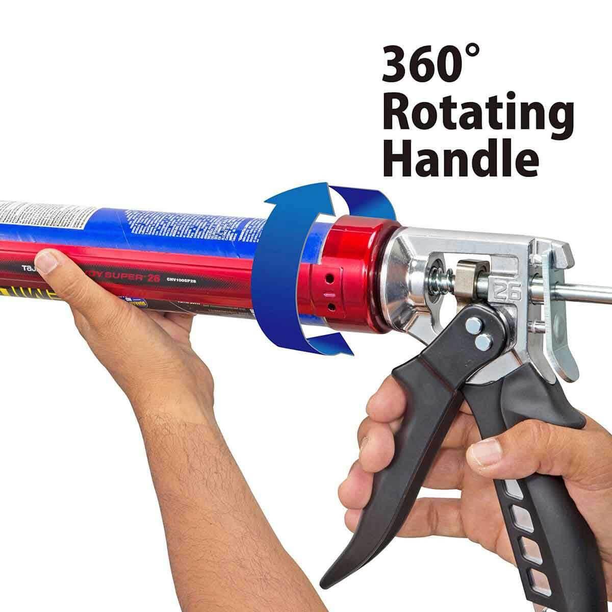Rotating Handle Caulking Gun Tajima