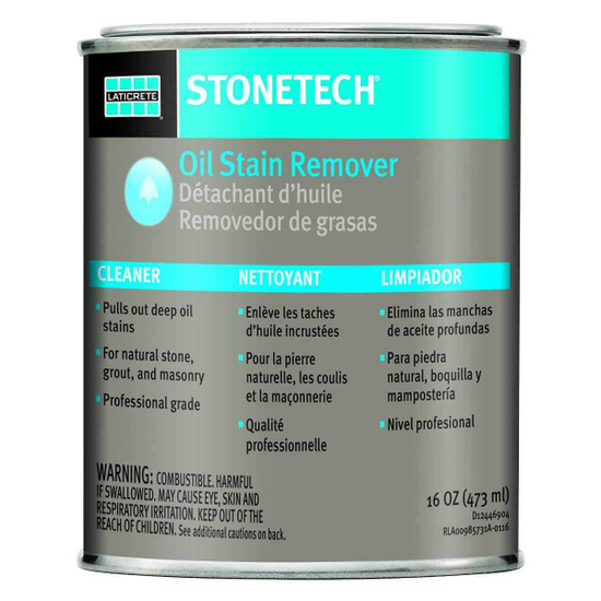 StoneTech Oil Stain Remover 1 Pint D12446904
