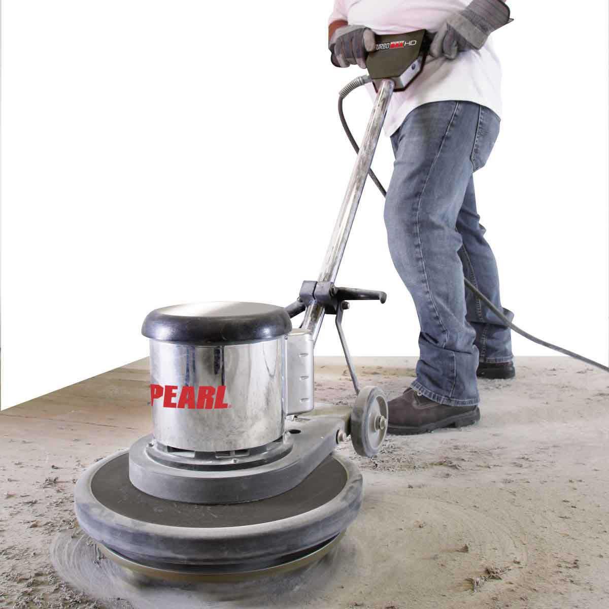 pearl turbomax concrete grinder