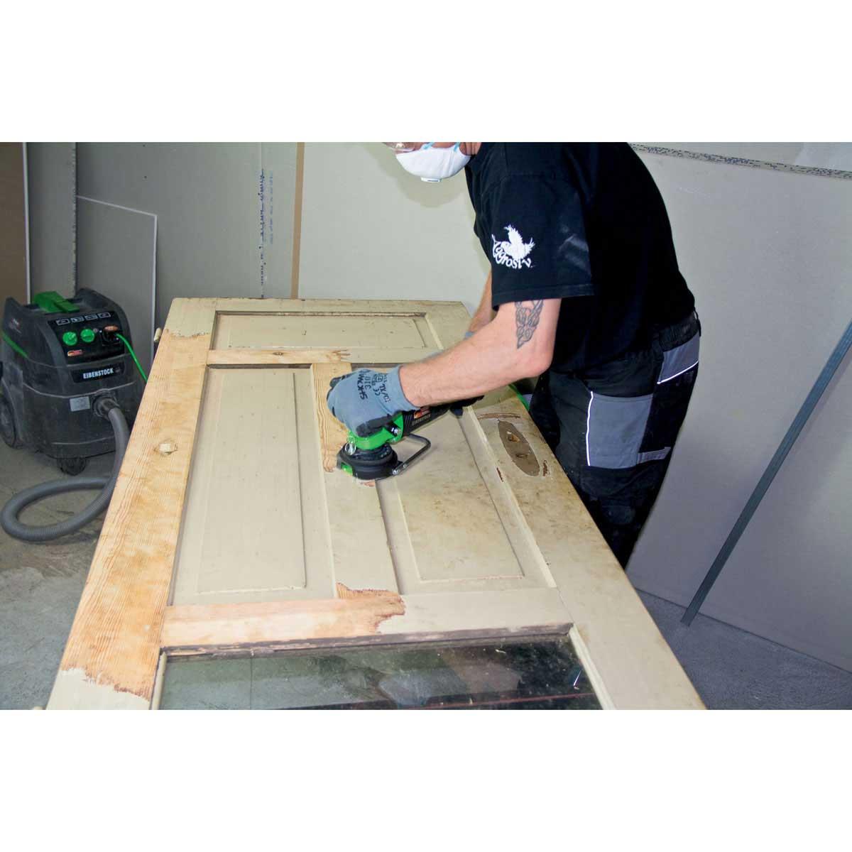 Carbide milling disc door sanding