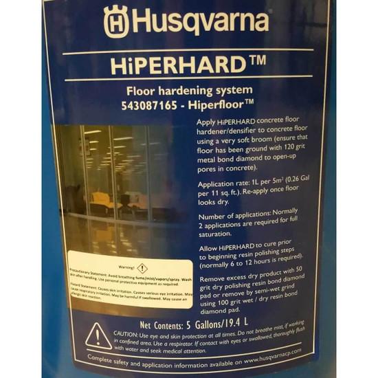 Husqvarna Hiperhard Floor Hardening System