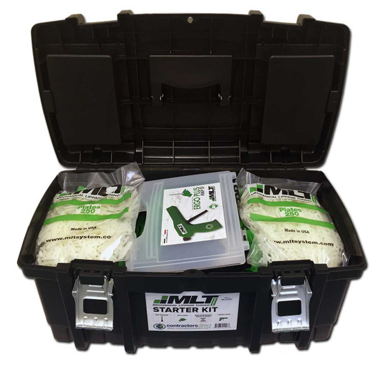 mlt leveling system starter kit with tool box