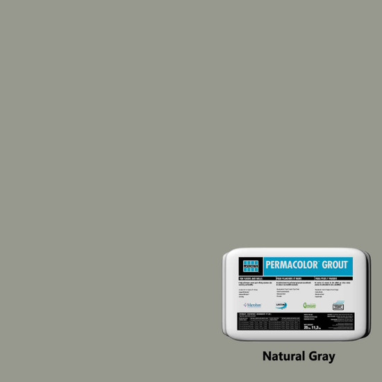 Laticrete PERMACOLOR Grout - Natural Gray