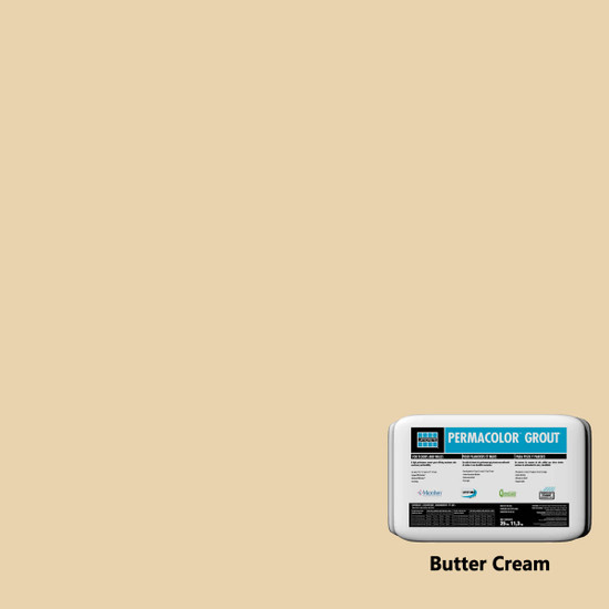 Laticrete PERMACOLOR Grout - Butter Cream