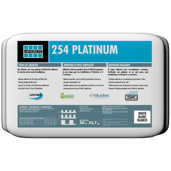 Laticrete 254 Platinum Thin-set