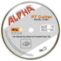 alpha pt cutter paver diamond blade