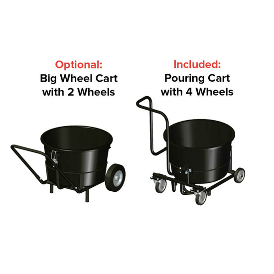 Twinmix Cement Mixer Cart Options