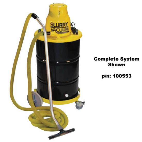 Diteq Dustless Wet Slurry Vacuum