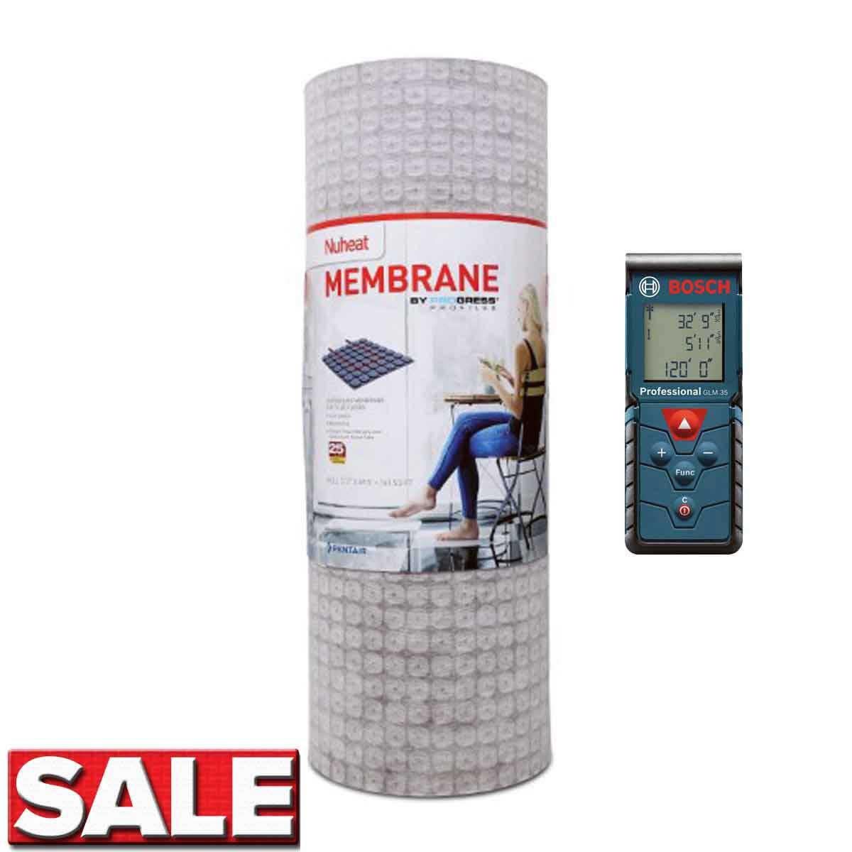 Nuheat Floor Heat Membrane