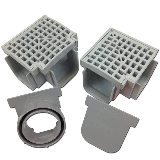UDS Drainage System 4 ft segments can be cut to size
