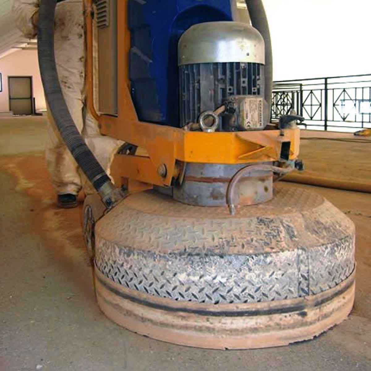 Klindex Floor Grinder triple head
