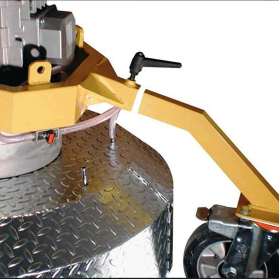 Klindex concrete grinder polisher
