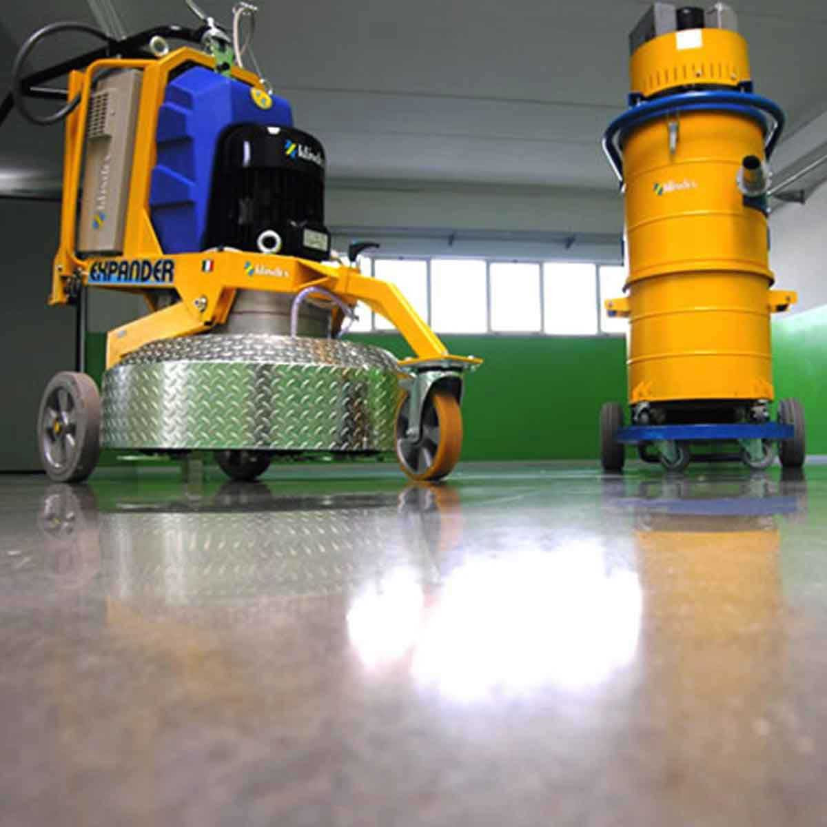 Klindex Floor Grinder and vacuum