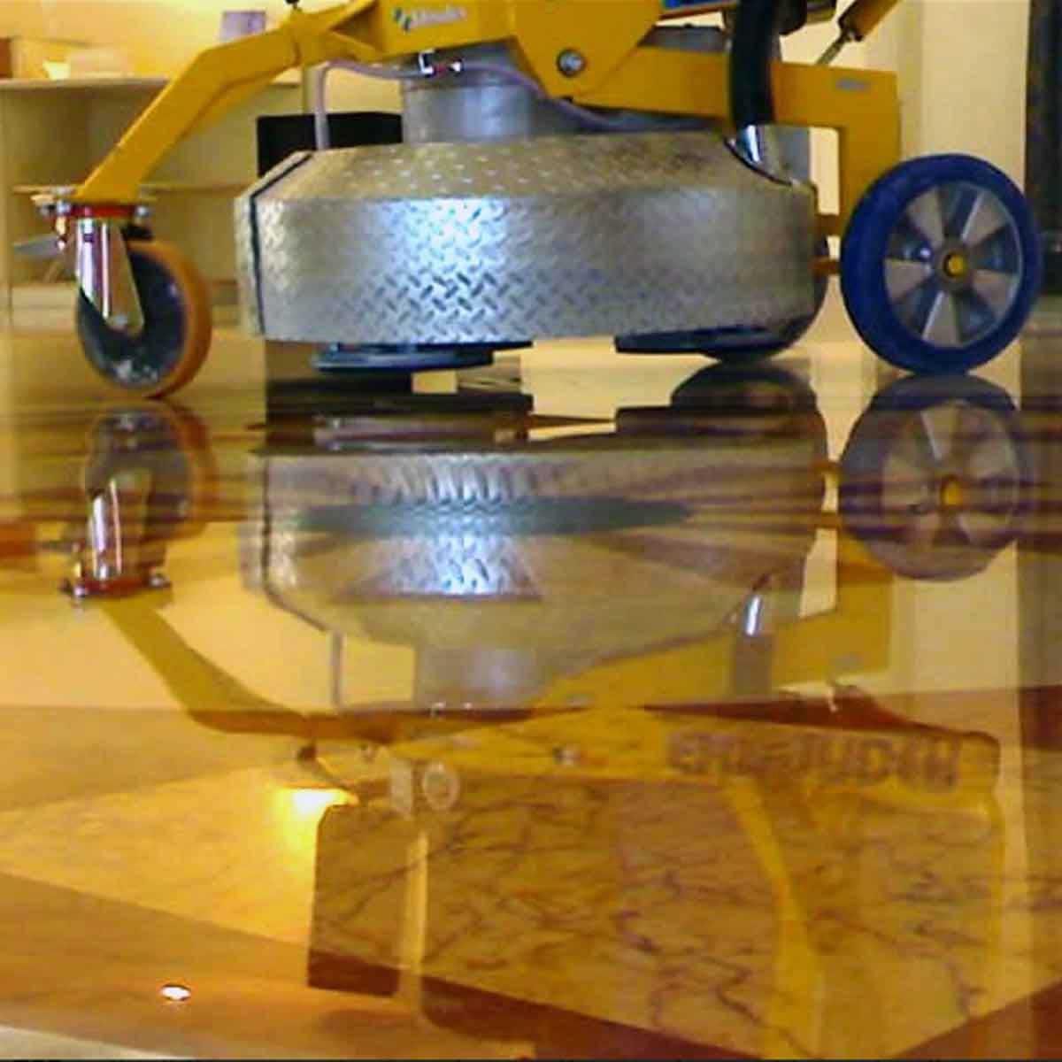 Klindex Floor Grinder polishing