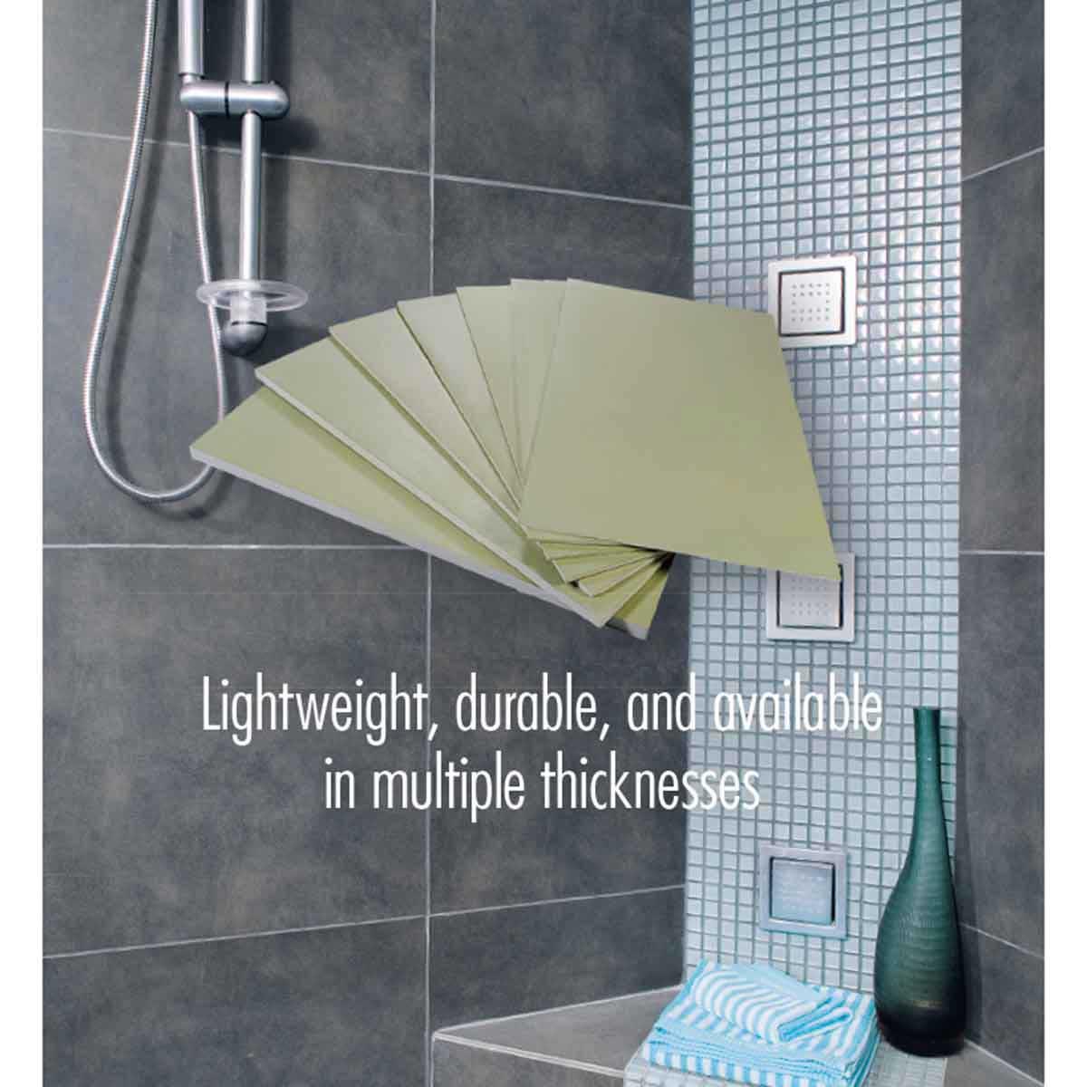 hydroban board, waterproof shower