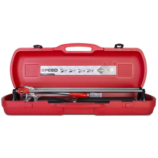 Rubi Speed-N Tile Cutters in carrying case designed for cutting bigger, tougher ceramic and porcelain tiles