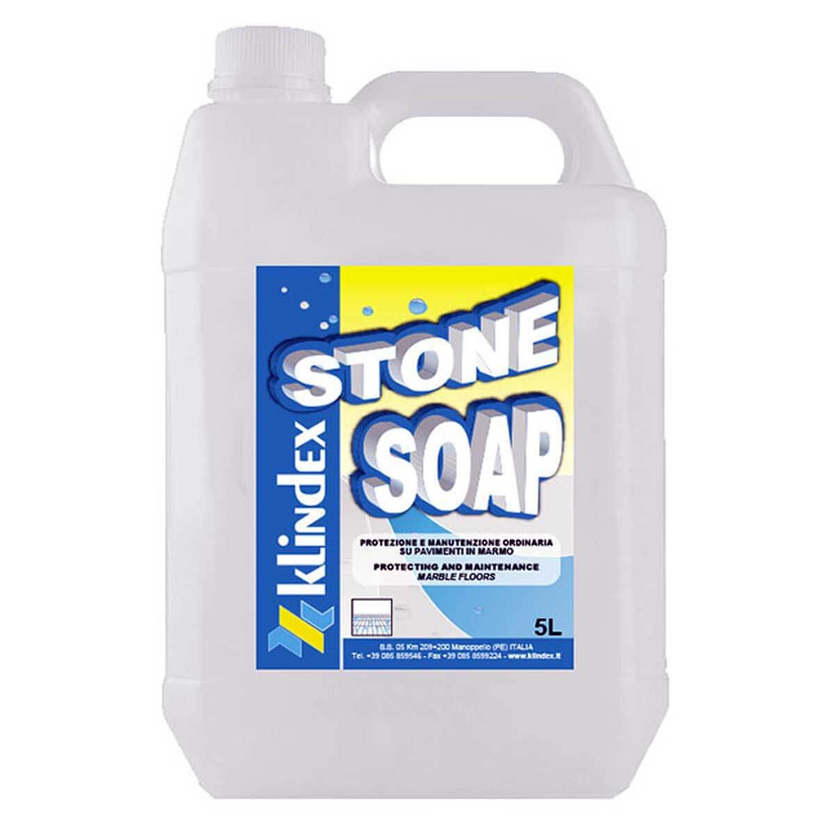 Marble Cleaner And Sealer : Klindex stone soap liter gallon contractors direct