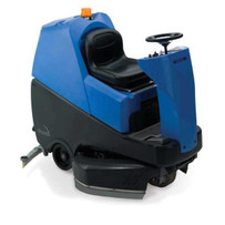 diteq ttv678 ride on floor scrubber