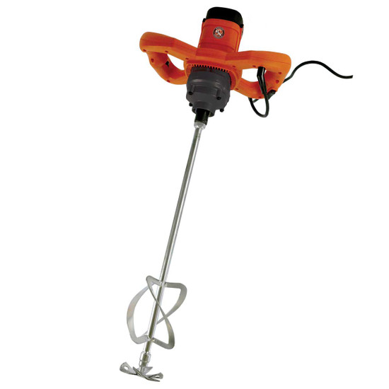 BN Products Handheld Power Mixer, BNR7000 Included TwinMaster Paddle for use with epoxies, cements, mortars, high-viscosity materials, plasters, paints, sealers and more
