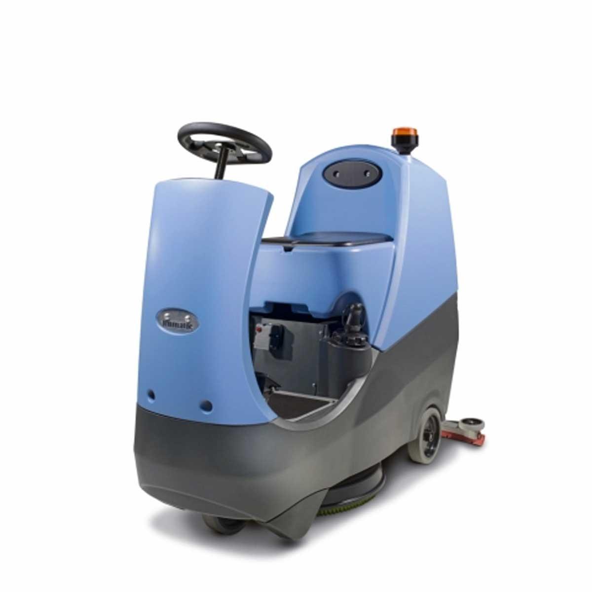 Diteq ttb2120 ride on floor scrubber g00115 contractors for Concrete floor scrubber