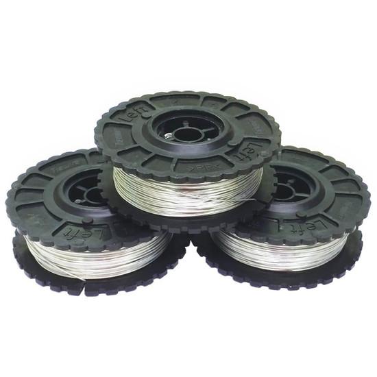 Pack of 50 BNT-40-WIRE Galvanized Tie Wire