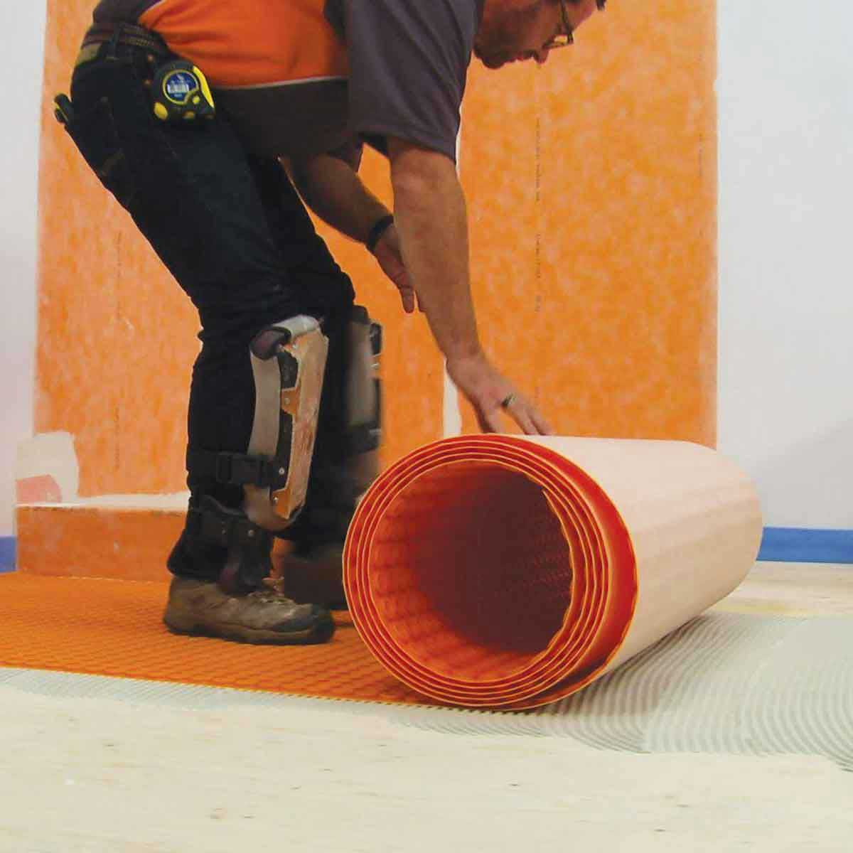 Schluter Uncoupling Membrane Roll