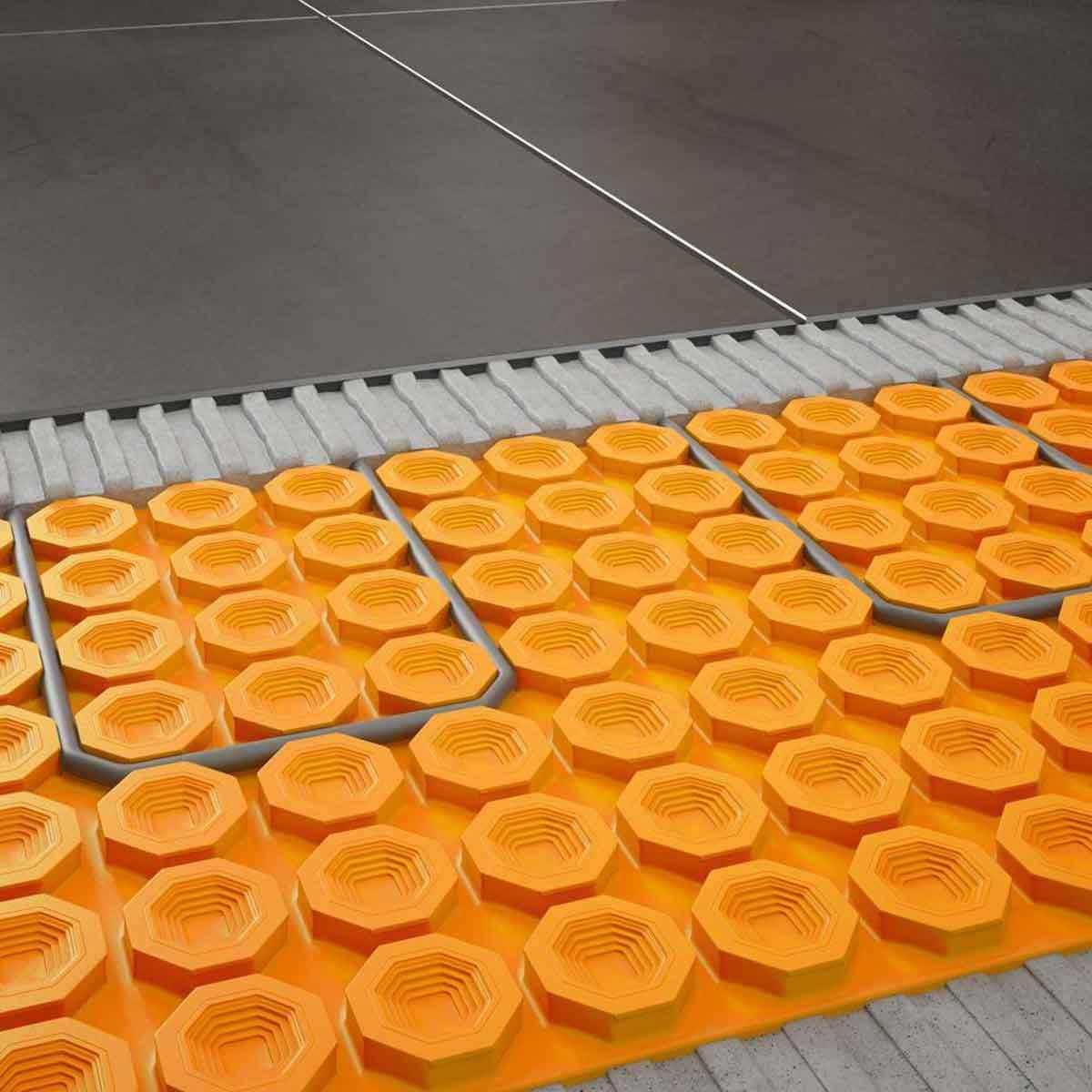schluter floor heat