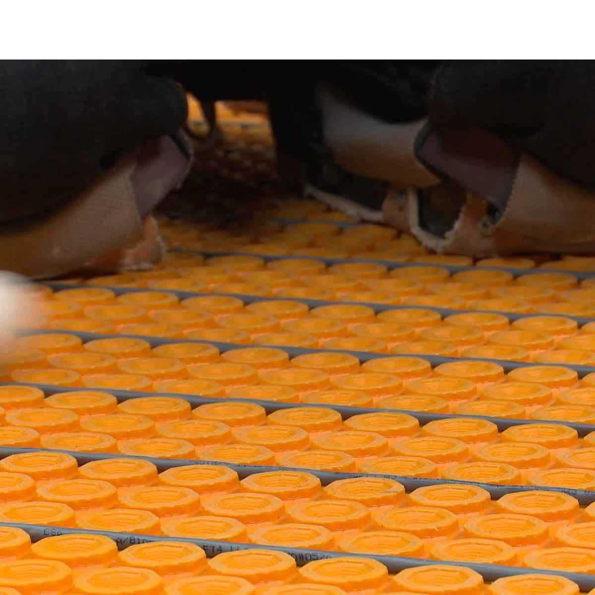 ditra installation membrane