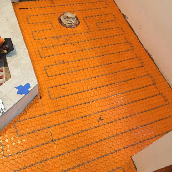Schluter Ditra Installation