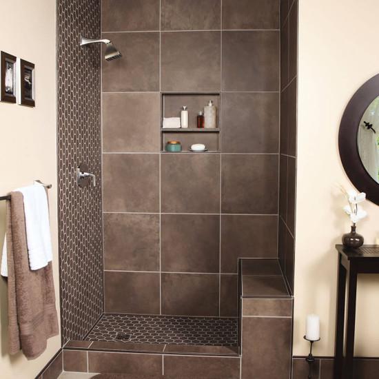 Schluter KERDI niche shower